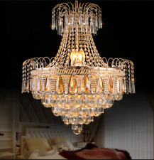 New ListingLuxury K9 Crystal Chandeliers Home Lighting Ceiling Fixtures Pendant Lamps Decor