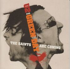 U2 & Green Day The Saints Are Coming 2 track cd single 2006