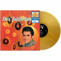 ELVIS PRESLEY GOLDEN RECORDS VINYL NEW! LIMITED GOLD LP! HOUND DOG, ALL SHOOK UP
