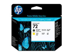 HP 72 Matte Black Yellow Print head C9384A For DESIGNJET T795 T2300 T1300 T770