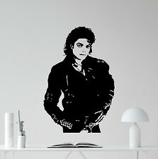 Michael Jackson Wall Decal Bad Album Music Vinyl Sticker Art Decor Mural 33sss