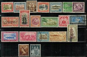 Samoa #181,183,185,187,189,191-194,203-215(x207) MH/MNH/Used