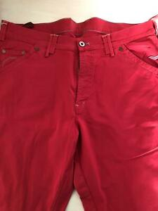 Pantaloni Uomo Mason's Colore Rosso Taglia 50