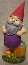 "Garden Accent Extra Large Bathing Gnome NEW Freestanding 11 1/2"" tall"