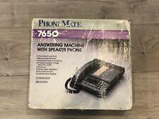 Vintage PhoneMate 7650 Telephone Answering Machine