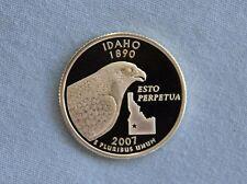 2007-S Idaho Silver Proof State Quarter Ultra Deep Cameo