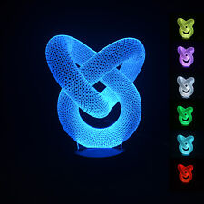 3D LED illusion Batman USB 7Color table Night Light Lamp Bedroom Child gift