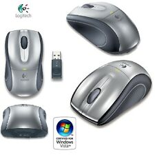 Logitech V320 Optische Maus for Notebooks schnurlos USB