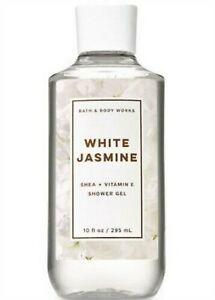 Bath & Body Works White Jasmine Shower Gel 10 Oz. New