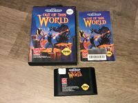 Out of this World Sega Genesis Complete CIB Authentic