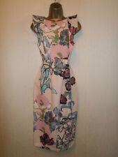 BNWT - ASOS Maternity - Pink Floral Frilled Dress - UK 6 / EU 34
