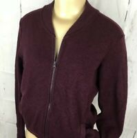 Mountain Hardware Sweater Safarin Bomber Jacket Full Zip Thumb Holes Women Sz S
