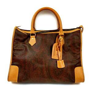 ETRO Hand Bag  Browns PVC 1521202