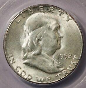 1952-S 1952 Franklin Half Dollar ICG MS64