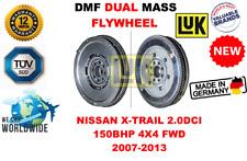 FOR T31 NISSAN X-TRAIL 2.0DCI 150BHP 4X4 FWD 07-13 NEW DUAL MASS DMF FLYWHEEL