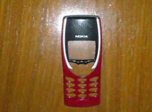 Genuine Original Nokia 8210 Front fascia cover housing Red Grade B