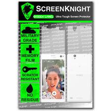 ScreenKnight Sony Xperia C4 FULL BODY SCREEN PROTECTOR invisible military shield