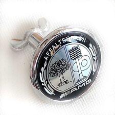 Black Front Hood Bonnet Badge Emblem Affalterbach AMG C W204 W221 W220 W211 W222