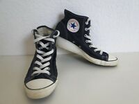 Converse All Star Chucks Sneaker Turnschuhe High Taylor Stoff Blau Gr. 5 / 38