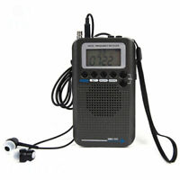 UK Stock - New AIRBAND Digital LCD Full Band FM/AM/SW/CB/Air/VHF Radio Receiver