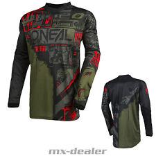 2021 O'Neal Element Jersey Ride Schwarz Grün Trikot MX DH MTB BMX Motocross