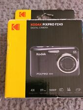 Kodak PIXPRO Friendly Zoom FZ43-BK 16MP Digital Camera with 4X Optical Zoom
