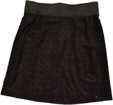 New Nic + Zoe Skirt, Rhinestones, Black Onyx, Size 8, Style# H111729