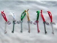 LARGE SANTA'S MAGIC KEY - for houses without a Chimney - Hand Made, You design!