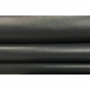 GRAY leather material Shiny lambskin leather Thick skin CASTLEROCK 586, 2.75 oz