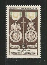 85X) FRANCE 1952** CENT. MÉDAILLE MILITAIRE - Yv. 927 (MNH)