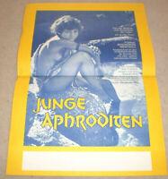 klein Filmplakat ,JUNGE APHRODITEN,TAKIS EMMANOUET,HELEN PROKOPIOU