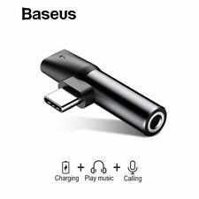 Baseus Type C Charging USB-C to 3.5mm Aux Jack Cable Adapter Converter Earphone