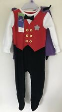 NEW WITH TAGS - 2 PIECE COSTUME - VAMPIRE / HALLOWEEN - 3 - 6 MONTHS - BOY