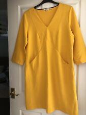 Boden Size 18 Yellow Bodycon Dress
