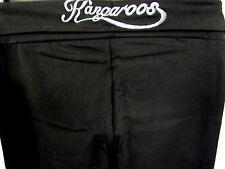 NEU KangaRoos Damen Jazzpant Fittness Sport Hose schwarz Taschen Lang Gr 92 (46)