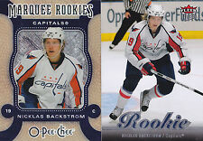 07-08 OPC Nicklas Backstrom Rookie Micromotion Parallel Capitals OPEECHEE 2007