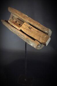 Antique ancien énorme loquet serrure XIXe -XVIIIE Douiret entre Tunisie & Libye