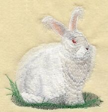 Embroidered Sweatshirt - Angora Rabbit M1745