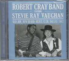 Robert Cray & Stevie Ray Vaughan-Old Jam, New Blood, CD NUOVO