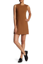 Theory $375 Helaina Pioneer Dress - Vicuna - Size 6