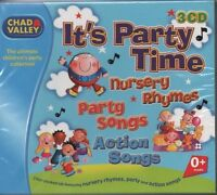 VARIOUS ARTISTS It's Party Time Children's 3 CD BOX SET   NEW - STILL SEALED