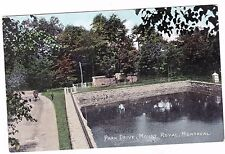 PARK DRIVE--MOUNT ROYAL---MONTREAL QUEBEC CANADA---- POSTCARD