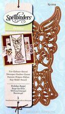 Spellbinders Holiday Angel cut emboss stencil Die Christmas cards S3-209