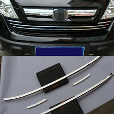Front Grille Centre Grill Cover Trim For 2007-2009 Honda CRV CR-V