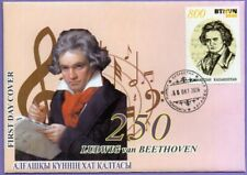 Kazakhstan 2020. FDC.  Ludwig van Beethoven. Composer.