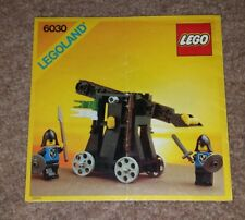 "Lego 6030 - ""Catapult"" Instruction Manual/Booklet"