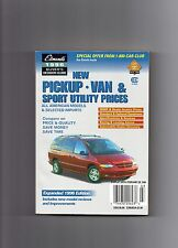1996 EDMUND'S NEW PICKUP-VAN AND SPORT UTILITY PRICES GUIDE,