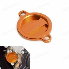 CNC Oil Filter Cover Guard For KTM 350SXF 11-17 350EXCF 2012-2017 250XCF 13-17