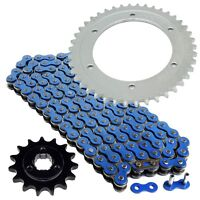 Blue Drive Chain And Sprocket Kit for Suzuki DR650SE 1996-2018