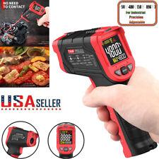 Thermometer Digital Lcd Infrared Temperature Gun Meter Pyrometer Ir Laser Point